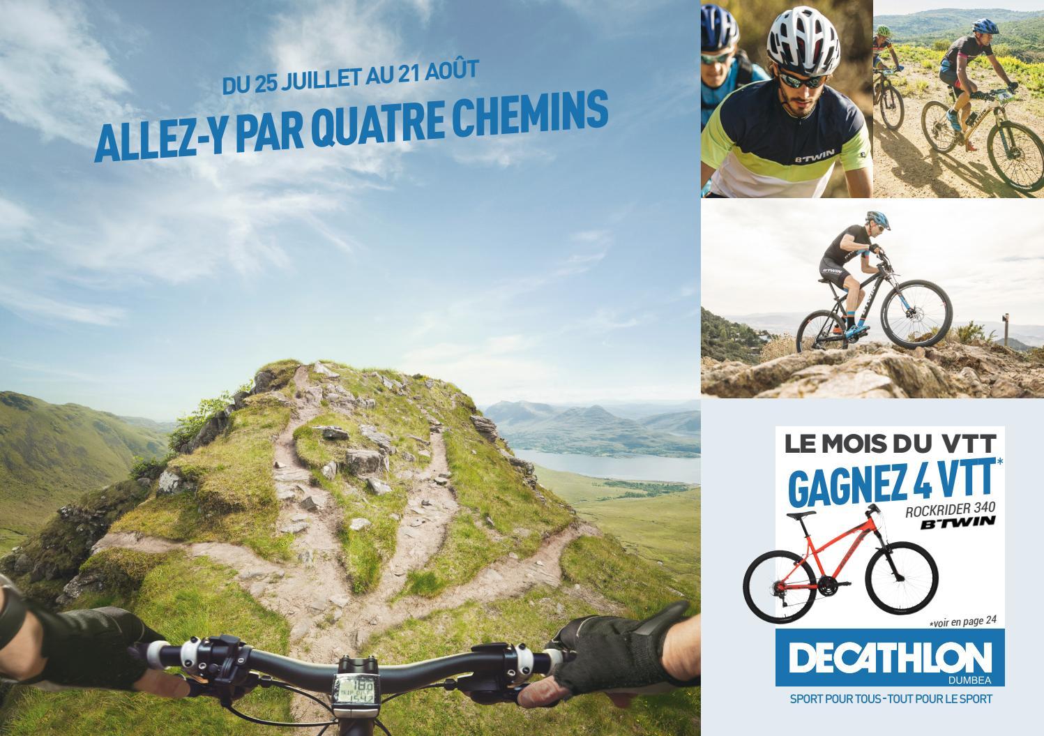 Issuu Dumbea Catálogo Dumbéa montaña de bicicletas E de Decathlon Por lFJc3TK1