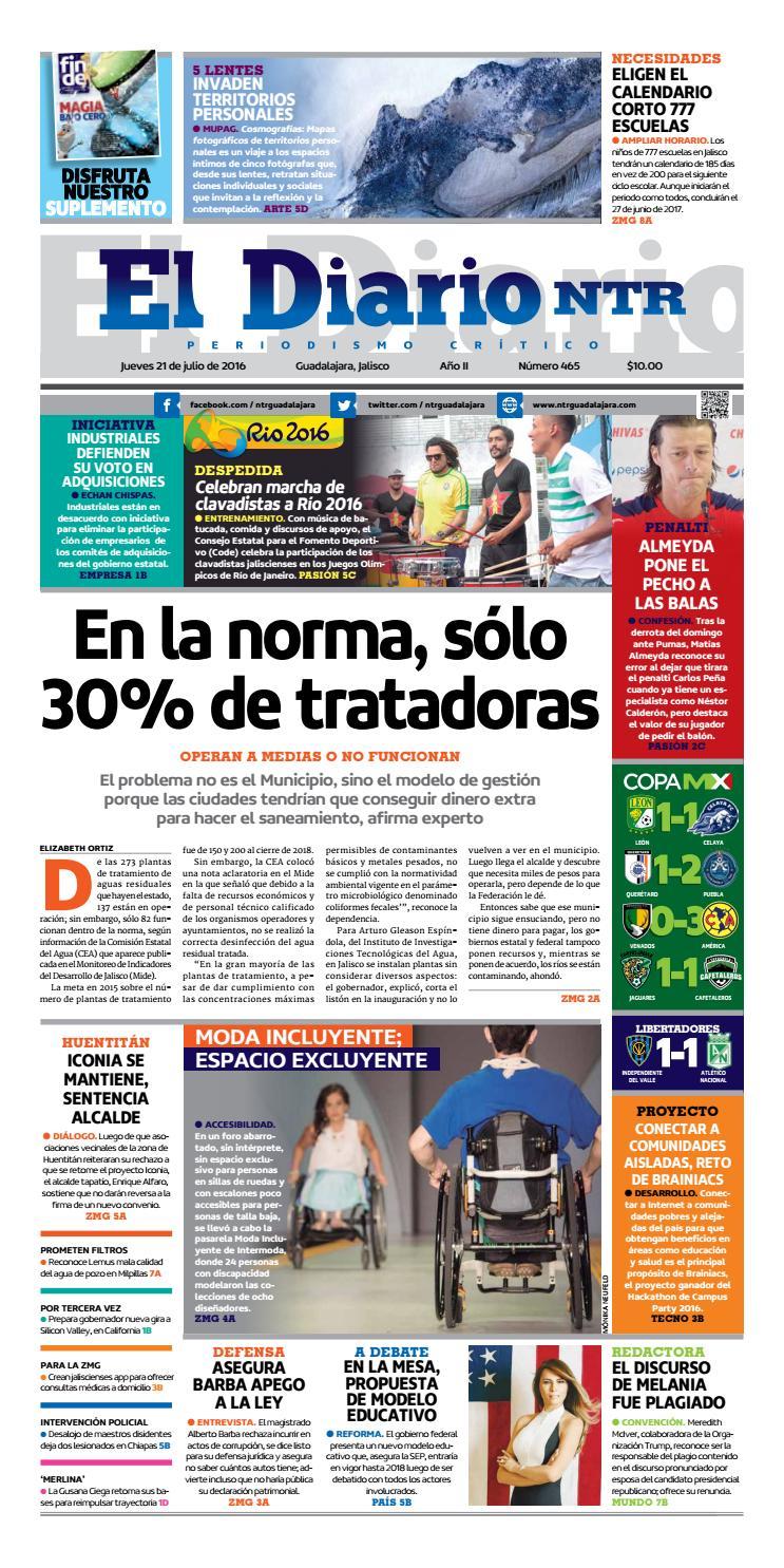 89d113a2b8 El Diario NTR 465 by NTR Guadalajara - issuu
