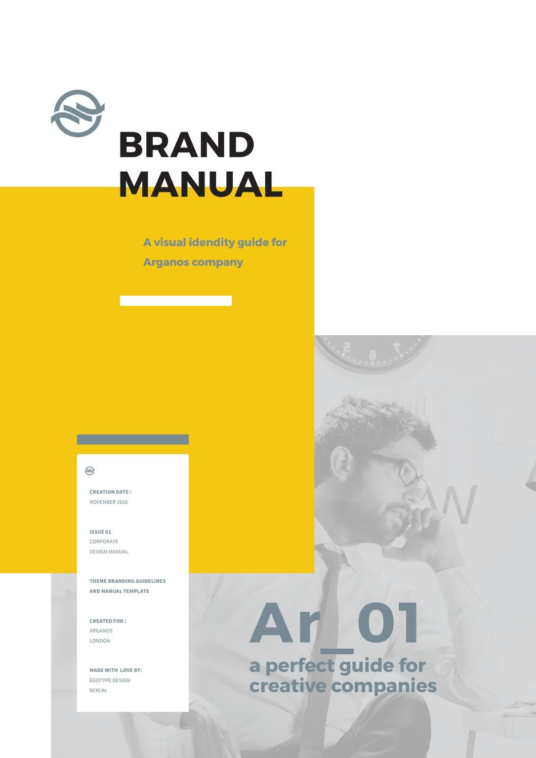 Brand Manual Arganos By Egotype