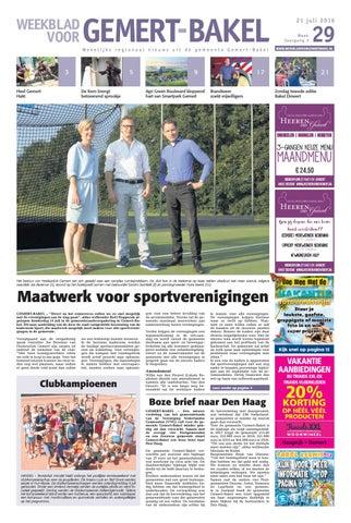 573a58cc9b36da Weekblad voor Gemert-Bakel WK29 by Das Publishers! - issuu