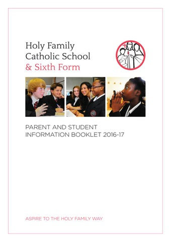 show my homework holy family walthamstow