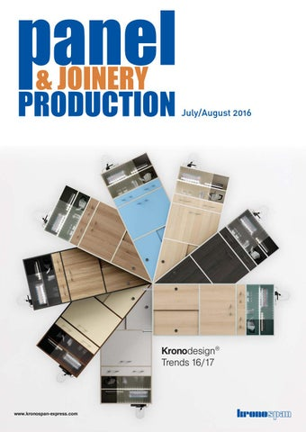 Panel & Joinery Production - July/August 2016