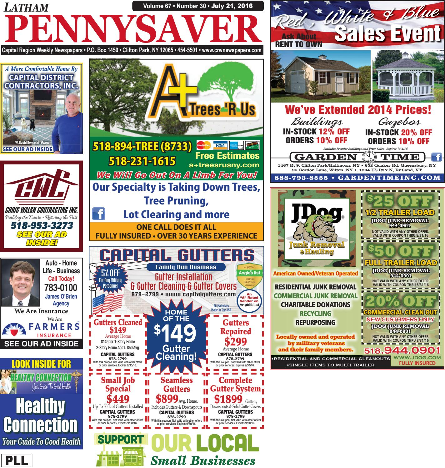 Latham Pennysaver 072116 By Capital Region Weekly