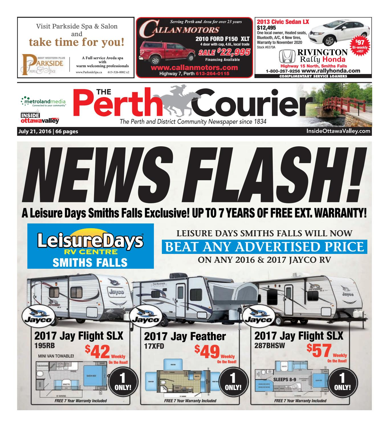 Perth072116 by metroland east the perth courier issuu fandeluxe Image collections
