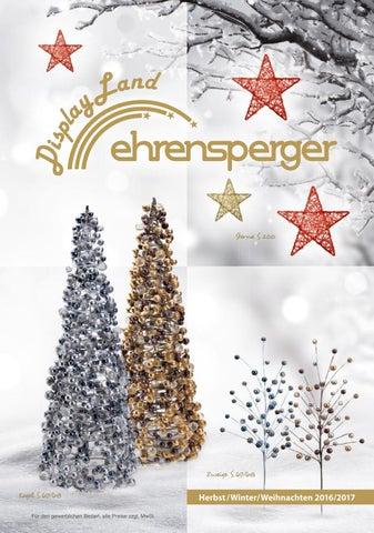 Ehrensperger AG DisplayLand Katalog Herbst/Winter/Weihnachten 2016 ...