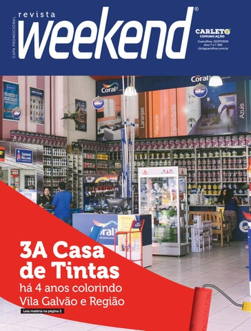 Revista Weekend - Edição 340 by Carleto Editorial - issuu 69bfd4d1b5b8a
