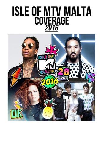 6676390636c2 Isle of MTV Malta coverage 2016 by VIMN Press Digests - issuu