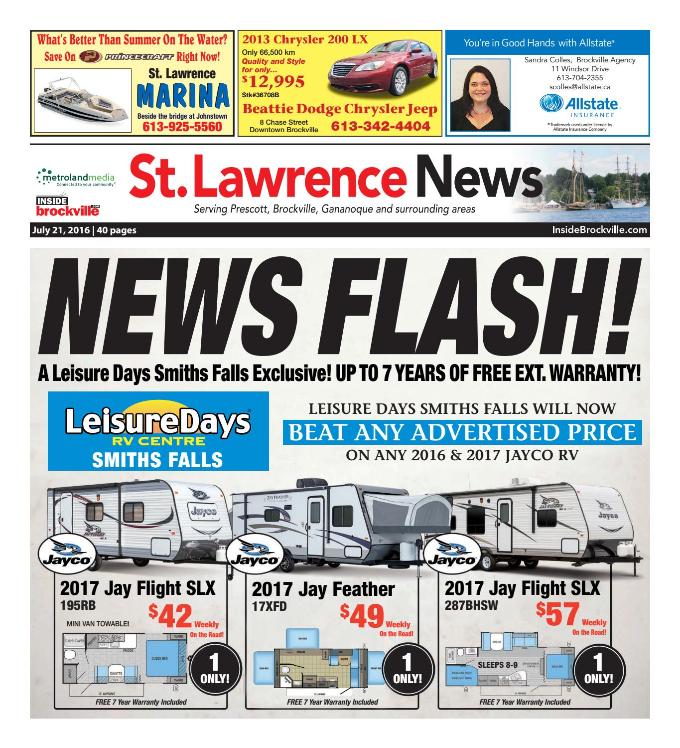 stlawrence072116 by metroland east st lawrence news issuu