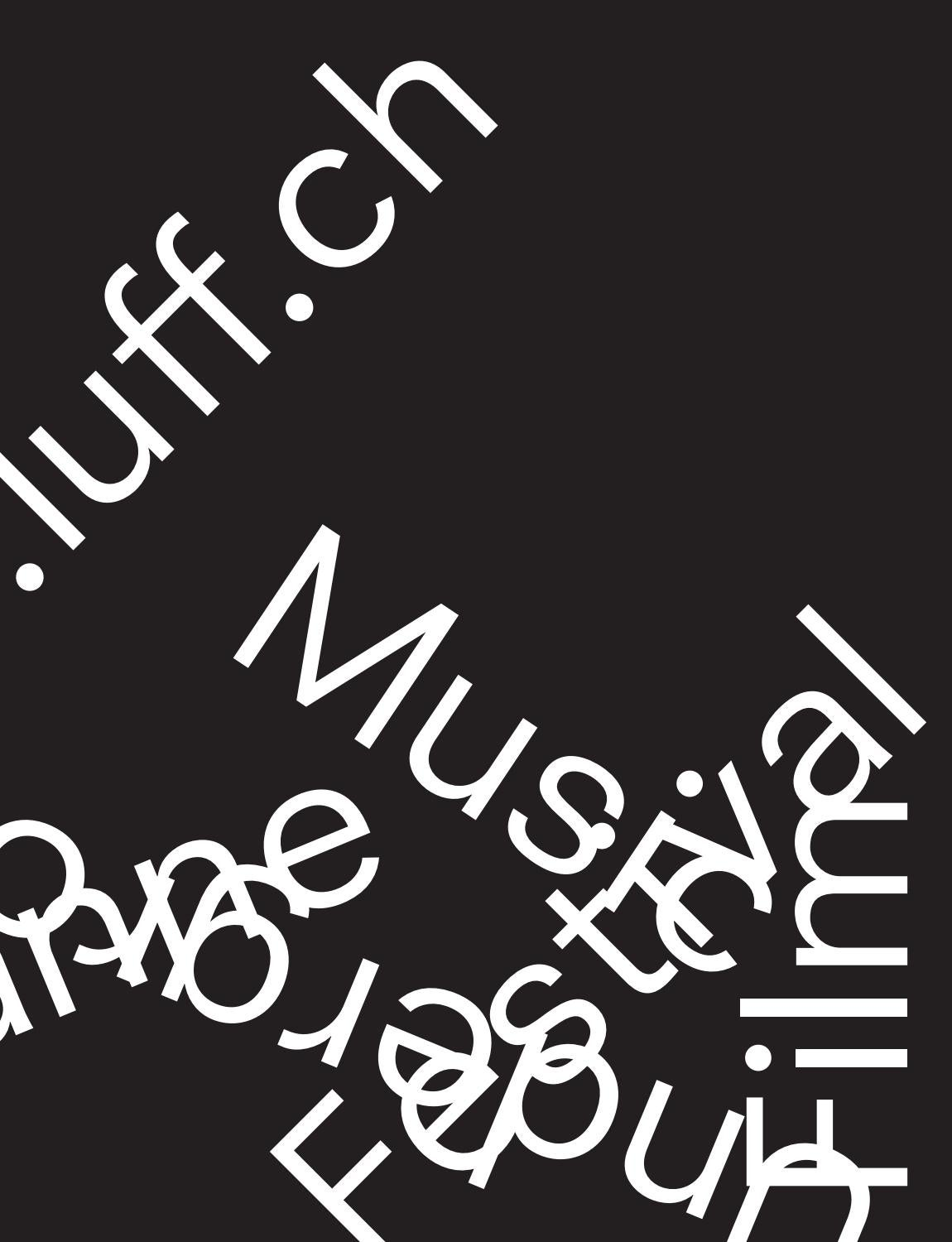 Luff 2015 Programme By Luff Lausanne Underground Film Music Images, Photos, Reviews