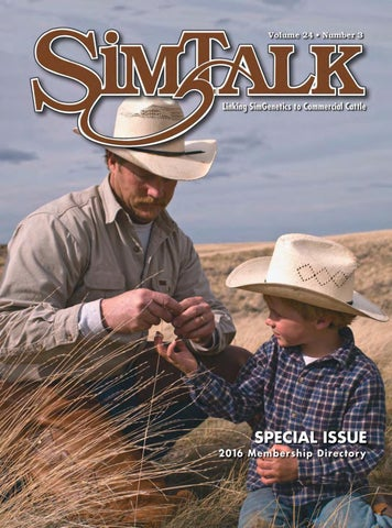 350ca5970c9 SimTalk 2016 Membership Directory by American Simmental Publication ...
