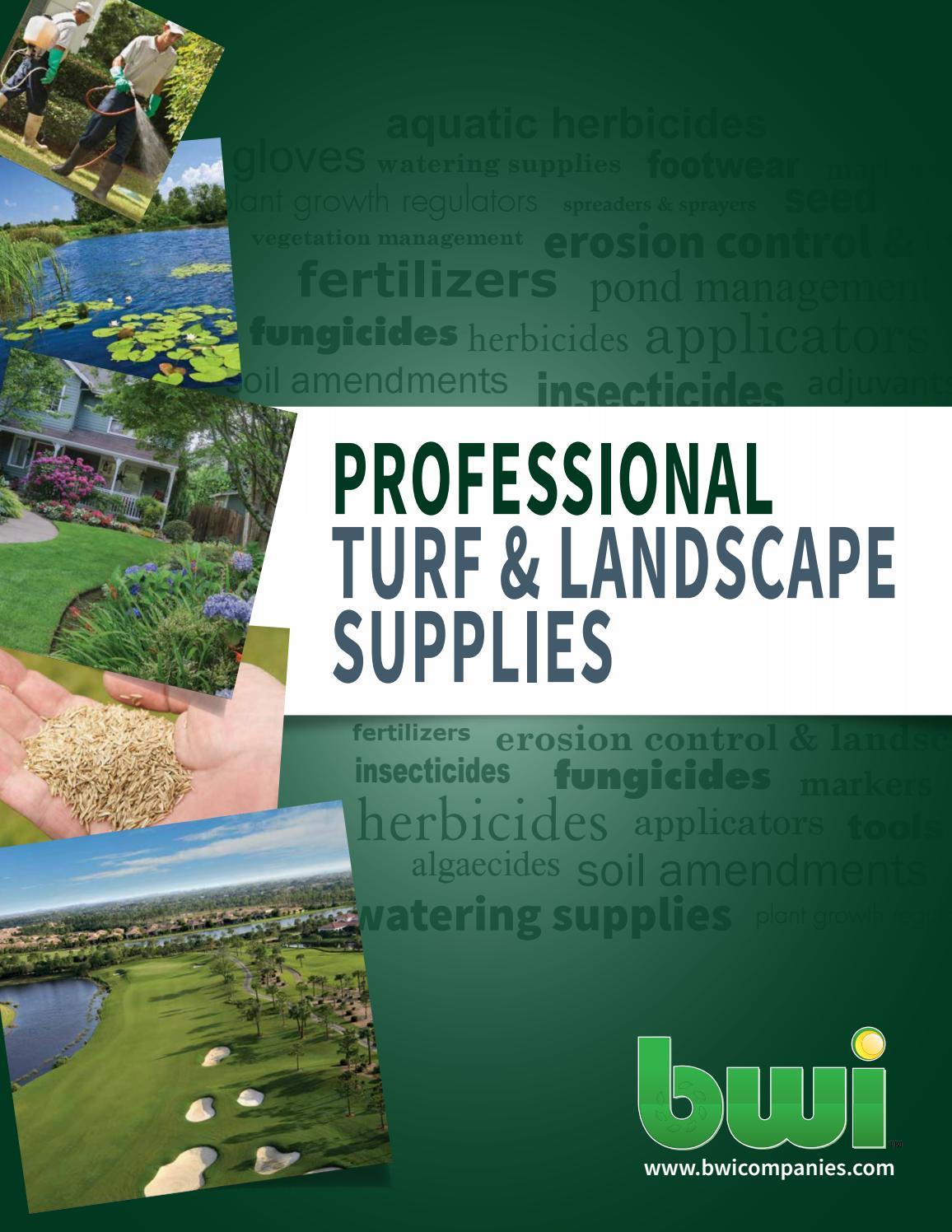 Bwi Professional Turf Landscape Catalog