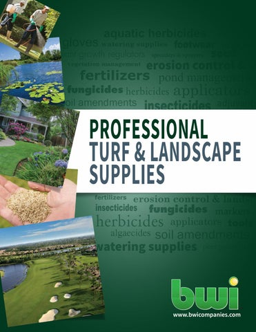 BWI Professional Turf & Landscape Catalog by BWI Companies, Inc  - issuu