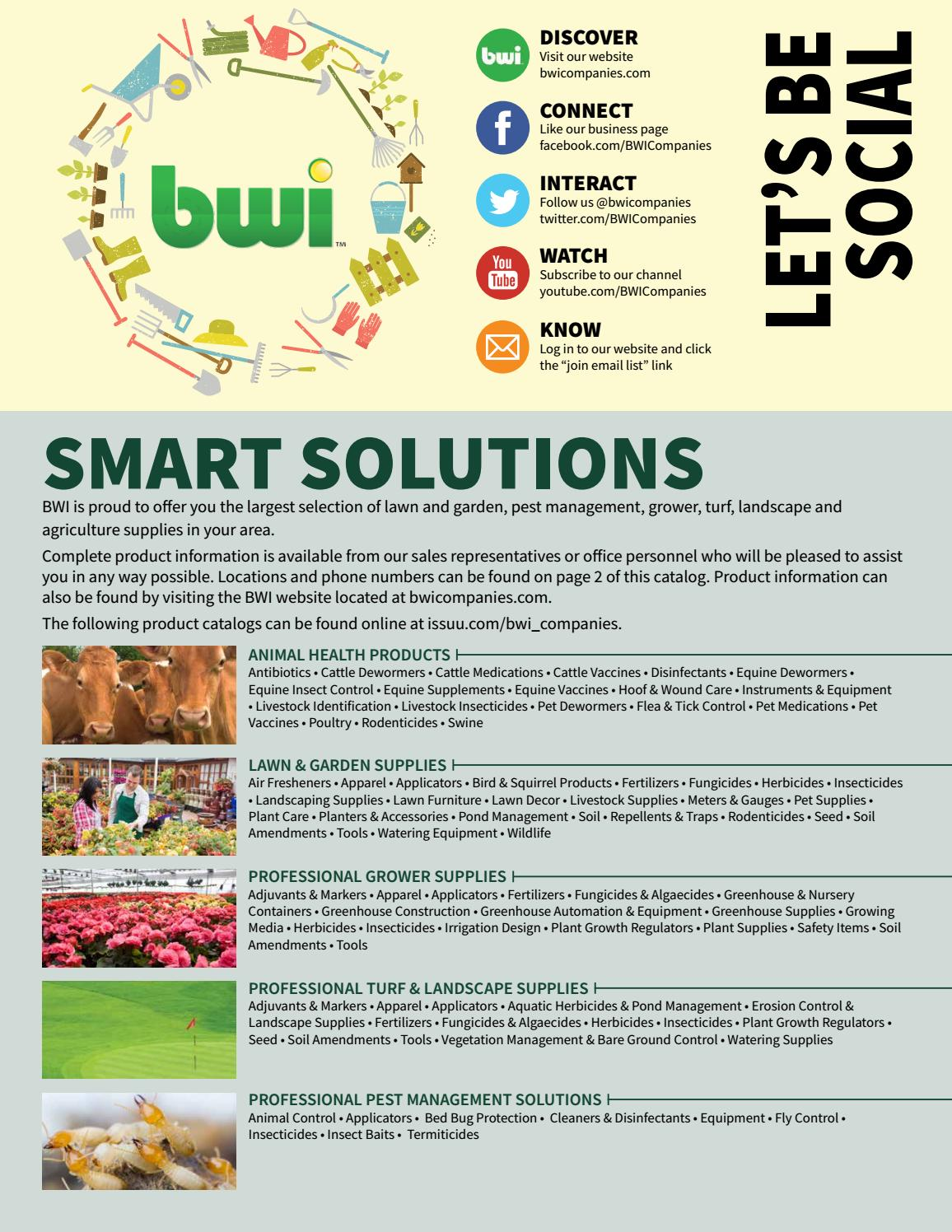 Bwi Professional Turf Landscape Catalog By Companies