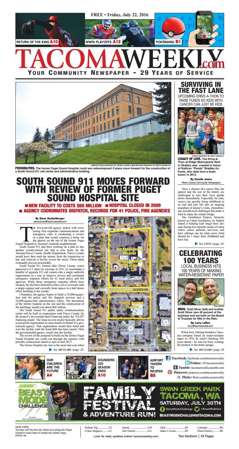 Twa 7 22 16 P01 By Tacoma Weekly News Issuu