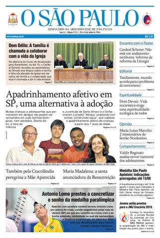 O SÃO PAULO - 3111 by jornal O SAO PAULO - issuu 53d9f3ce031