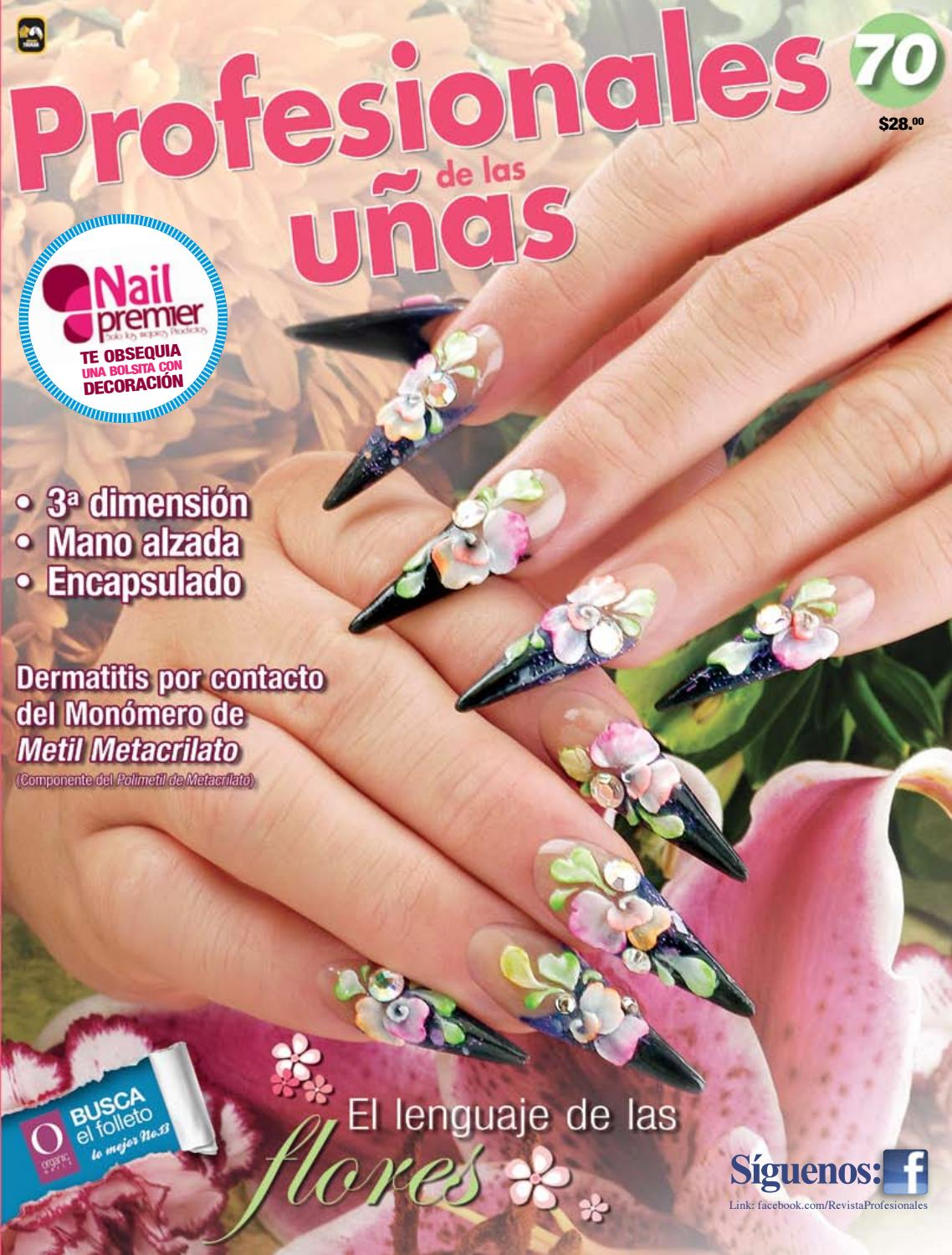 Profesionales de las uñas No. 70 by Editorial Toukan - issuu