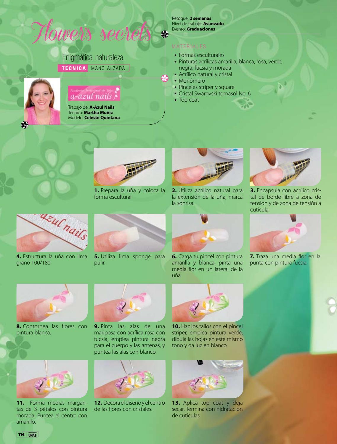 Profesionales de las uñas No. 70 by Editorial Toukan - issuu