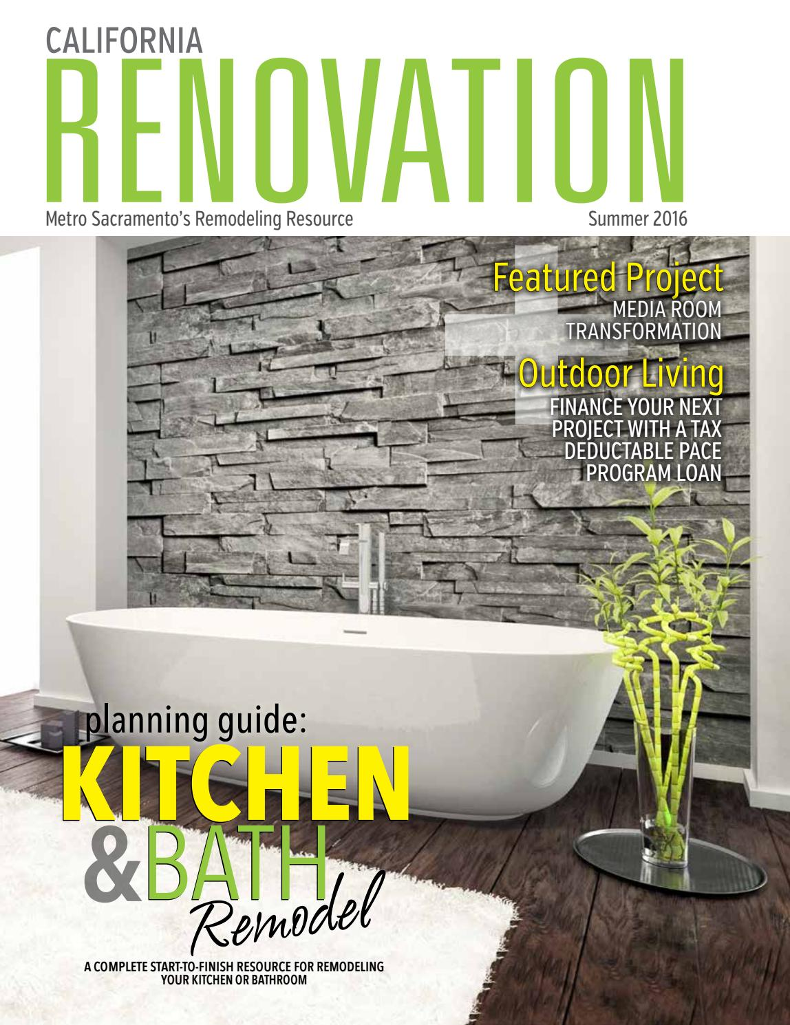 California Renovation Magazine Summer 2016 by California