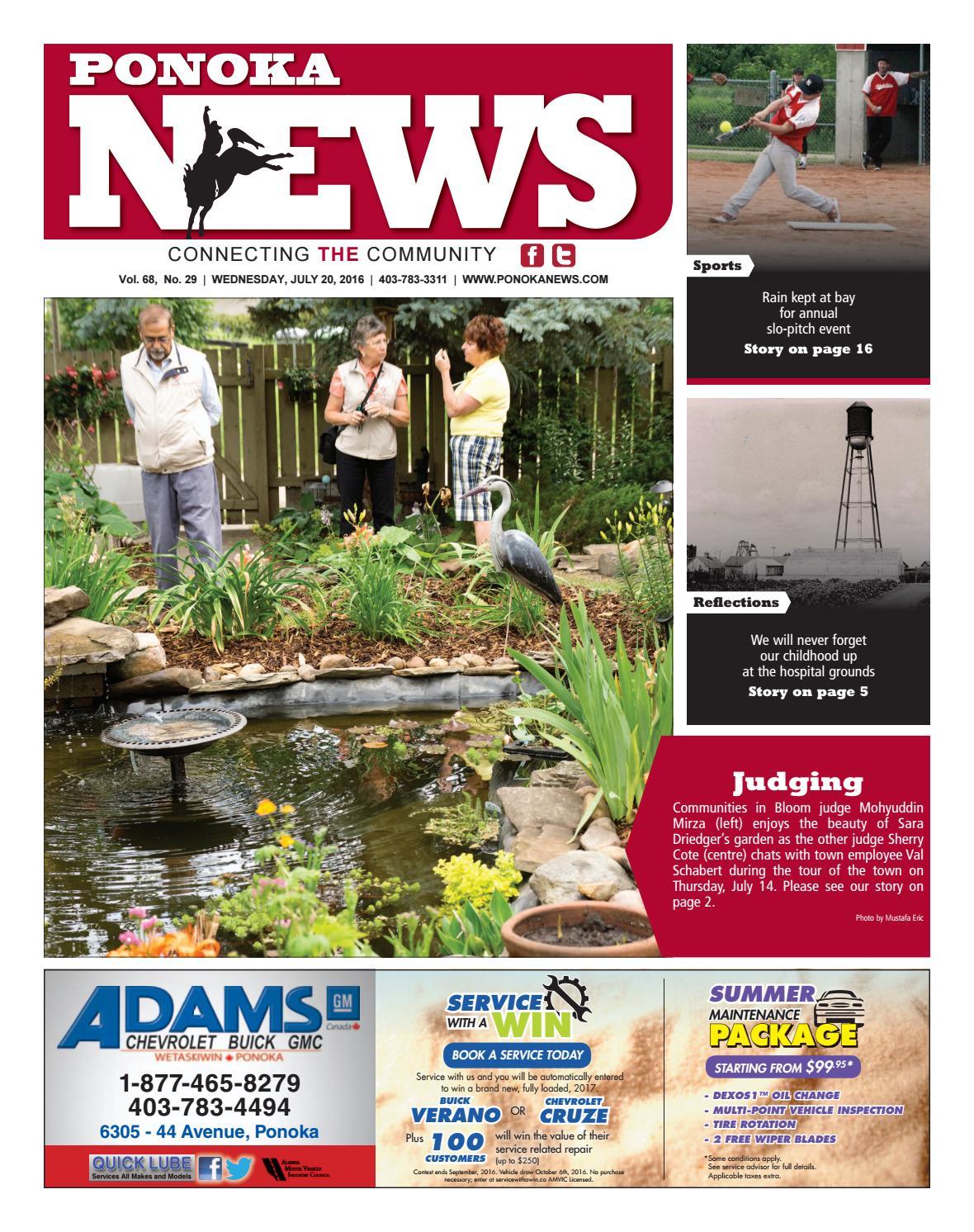 Ponoka News, July 20, 2016 by Black Press Media Group - issuu