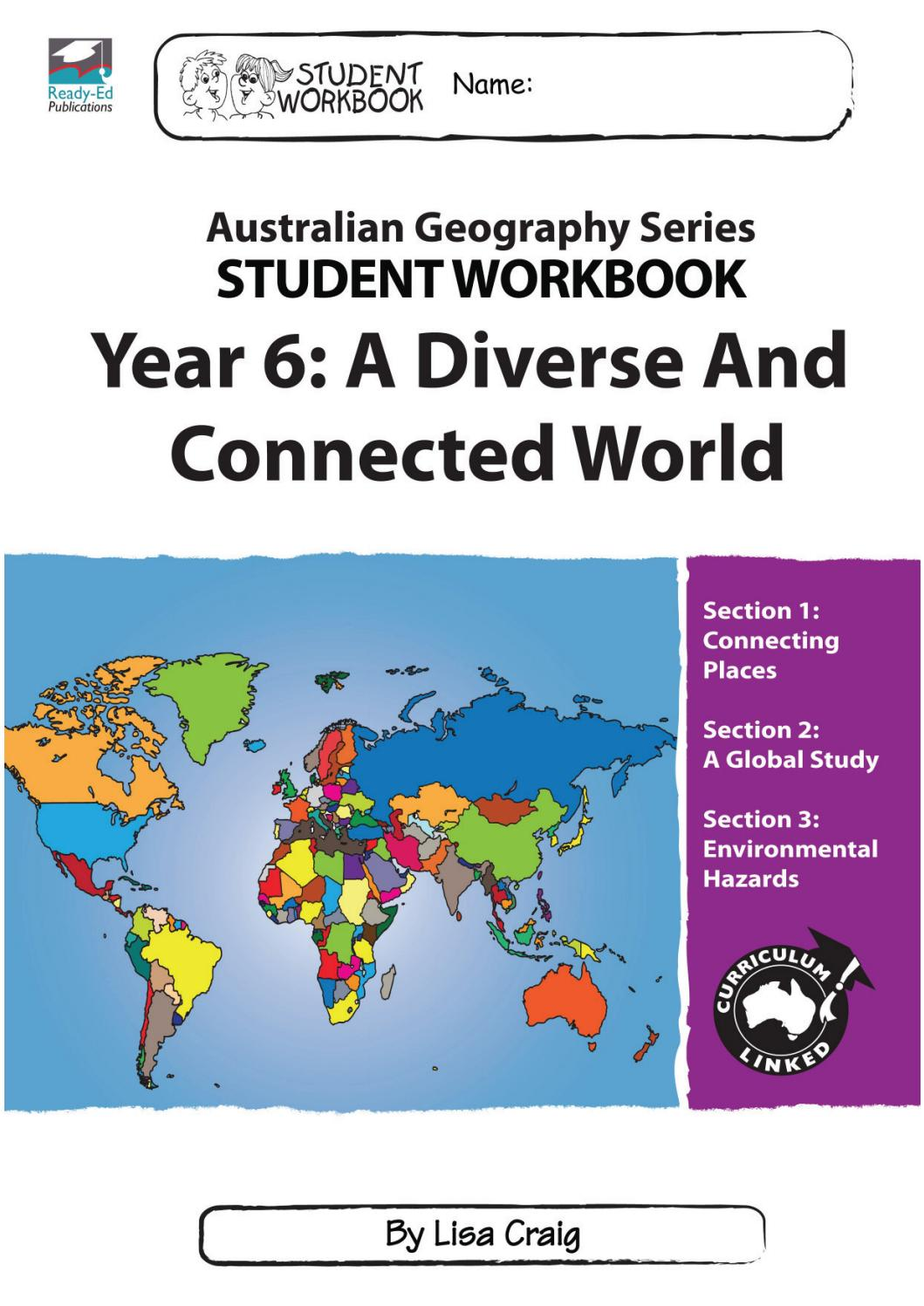 Workbooks relationship rescue workbook : Australian Geography Series Workbook 6: A Diverse And Connected ...