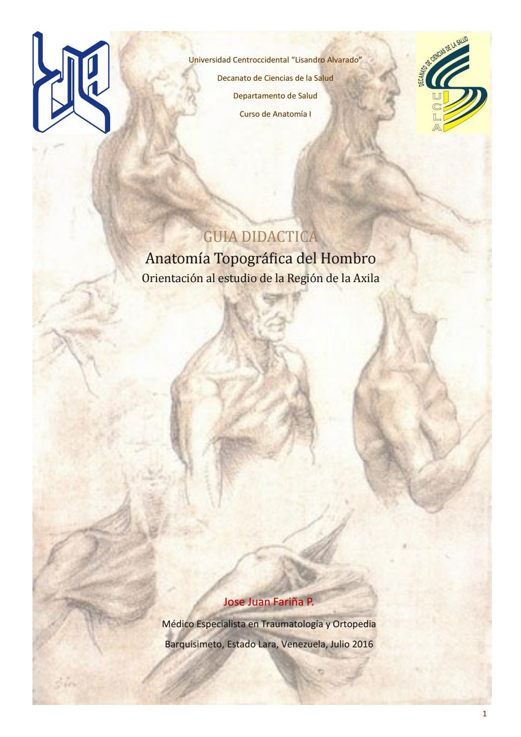 Guía Didáctica de Hombro by jjfarina - issuu