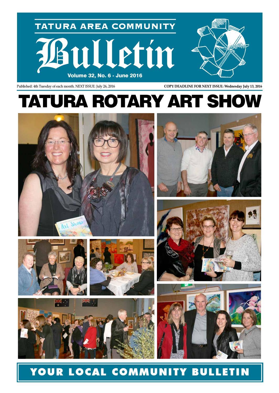 Tatura Bulletin June Edition 2016 By Tatura Bulletin Issuu