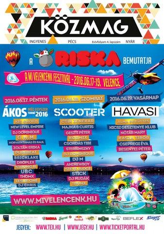"""Cover of """"KÖZMAG Pécs Tanévzáró lapszám - 2016-05"""""""