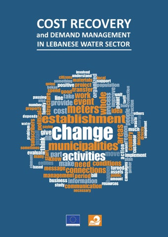 Cost recovery and demand management in Lebanese water sector - GVC