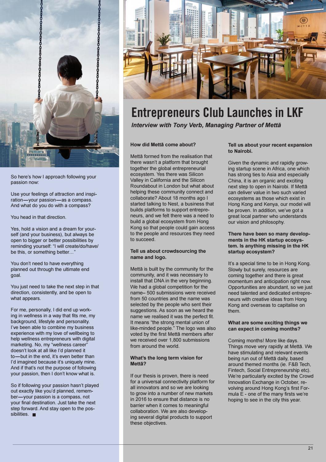 Startup Magazine of Hong Kong: Jumpstart Issue 12 (July/August 2016) Hong  Kong