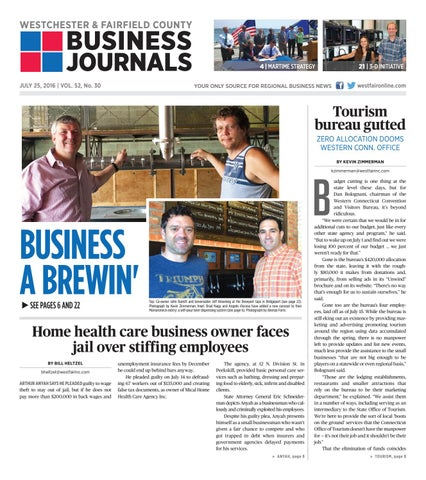 Westchester and fairfield county business journals 072516 by wag page 1 fandeluxe