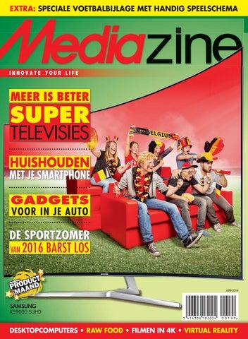 ac13571ddb597f Mediazine België Juni 2016 by Mediazine België Belgique - issuu
