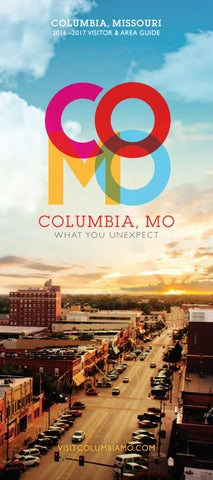 2016 2017 Columbia Missouri Visitor Amp Area Guide By
