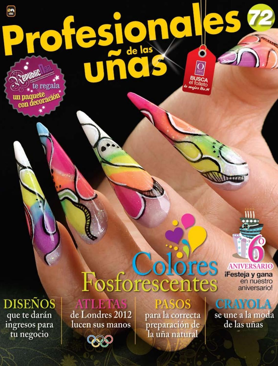 Profesionales de las uñas No. 72 by Editorial Toukan - issuu