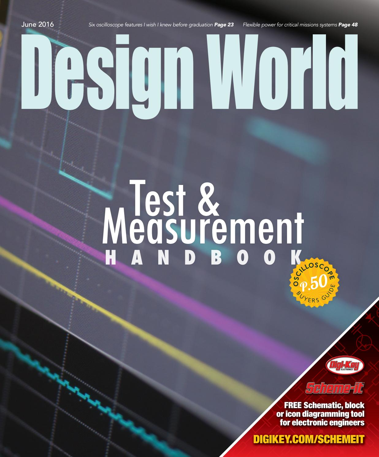 Test Measurement Handbook 2016 By Wtwh Media Llc Issuu Free Circuit Drawing Software Schemeit Build Electronic Circuits
