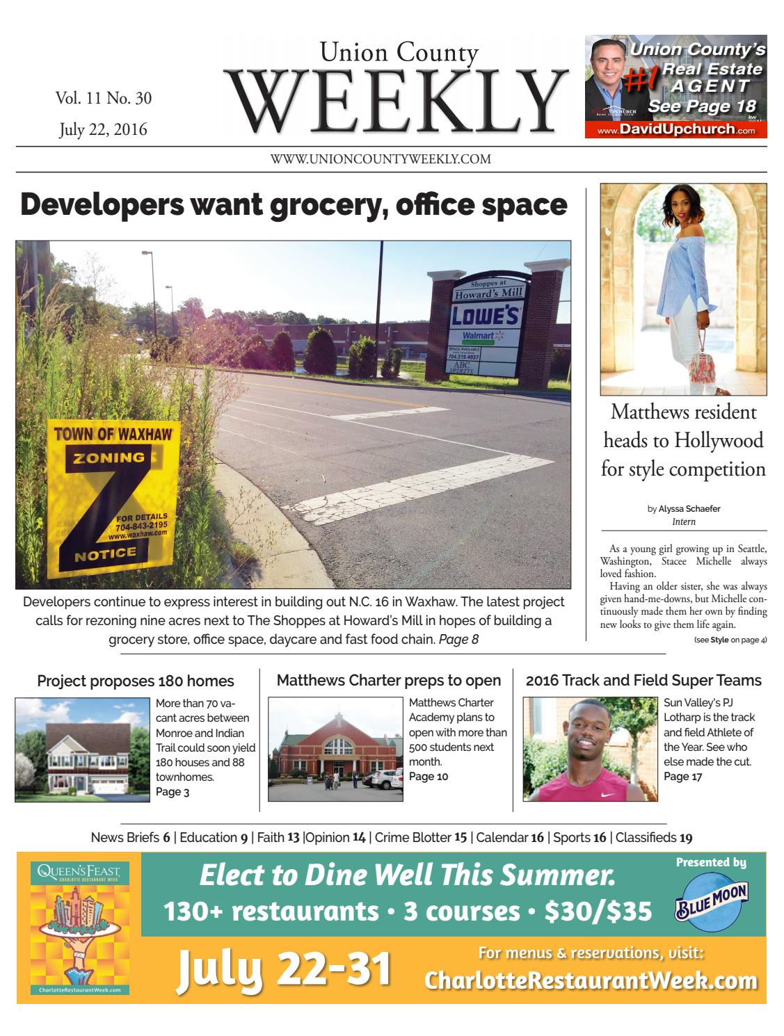 0b19e4f4a9 Union County Weekly by Carolina Weekly - issuu