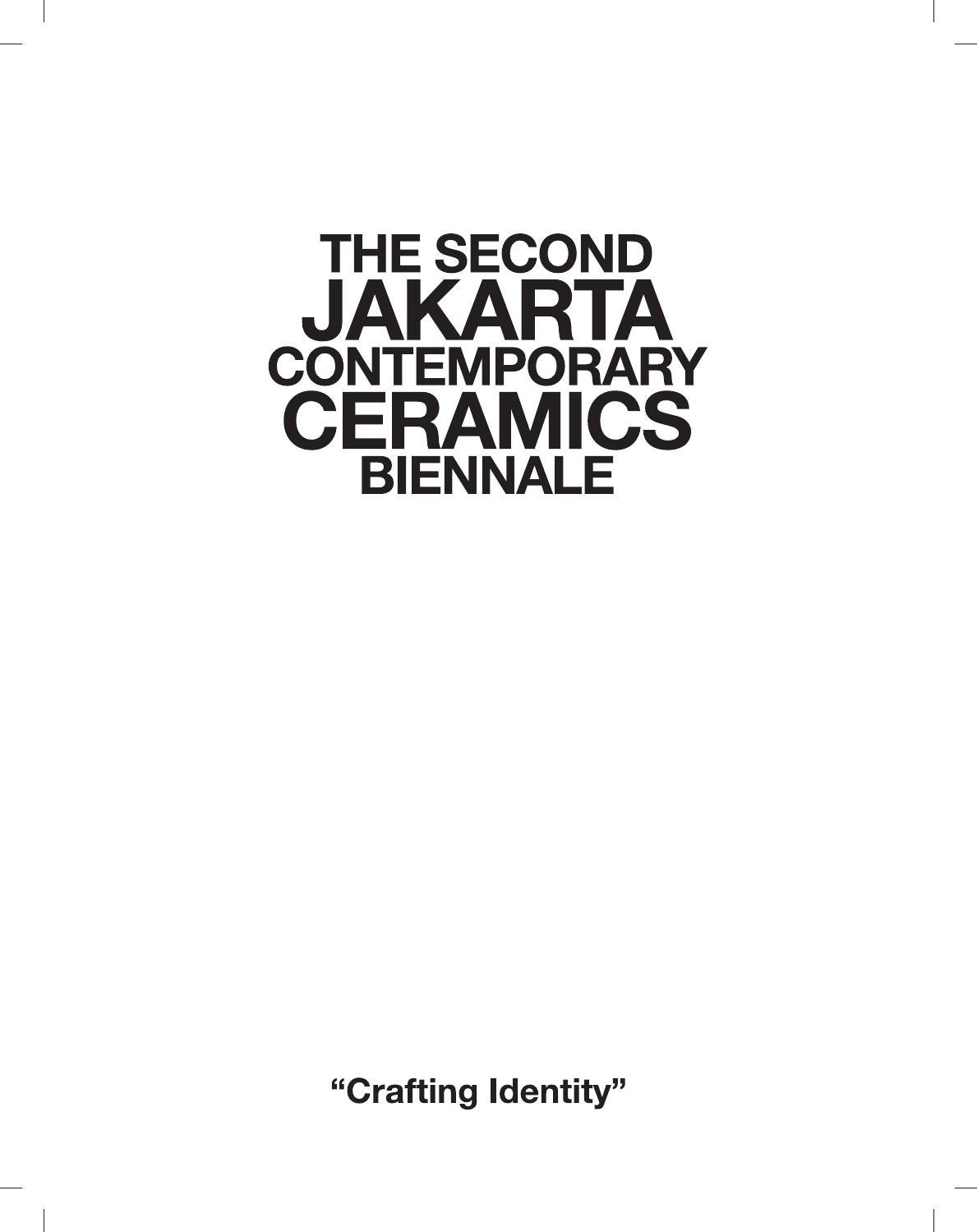 Catalogue Of The 2nd JCCB By JCCB Indonesia Issuu