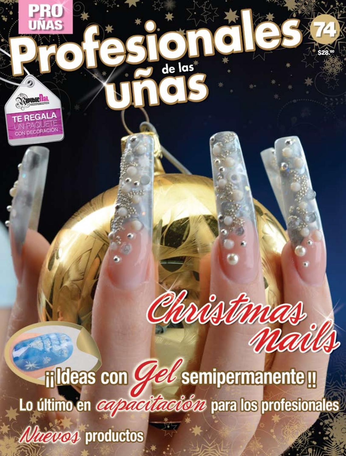 Profesionales de las uñas No. 74 by Editorial Toukan - issuu