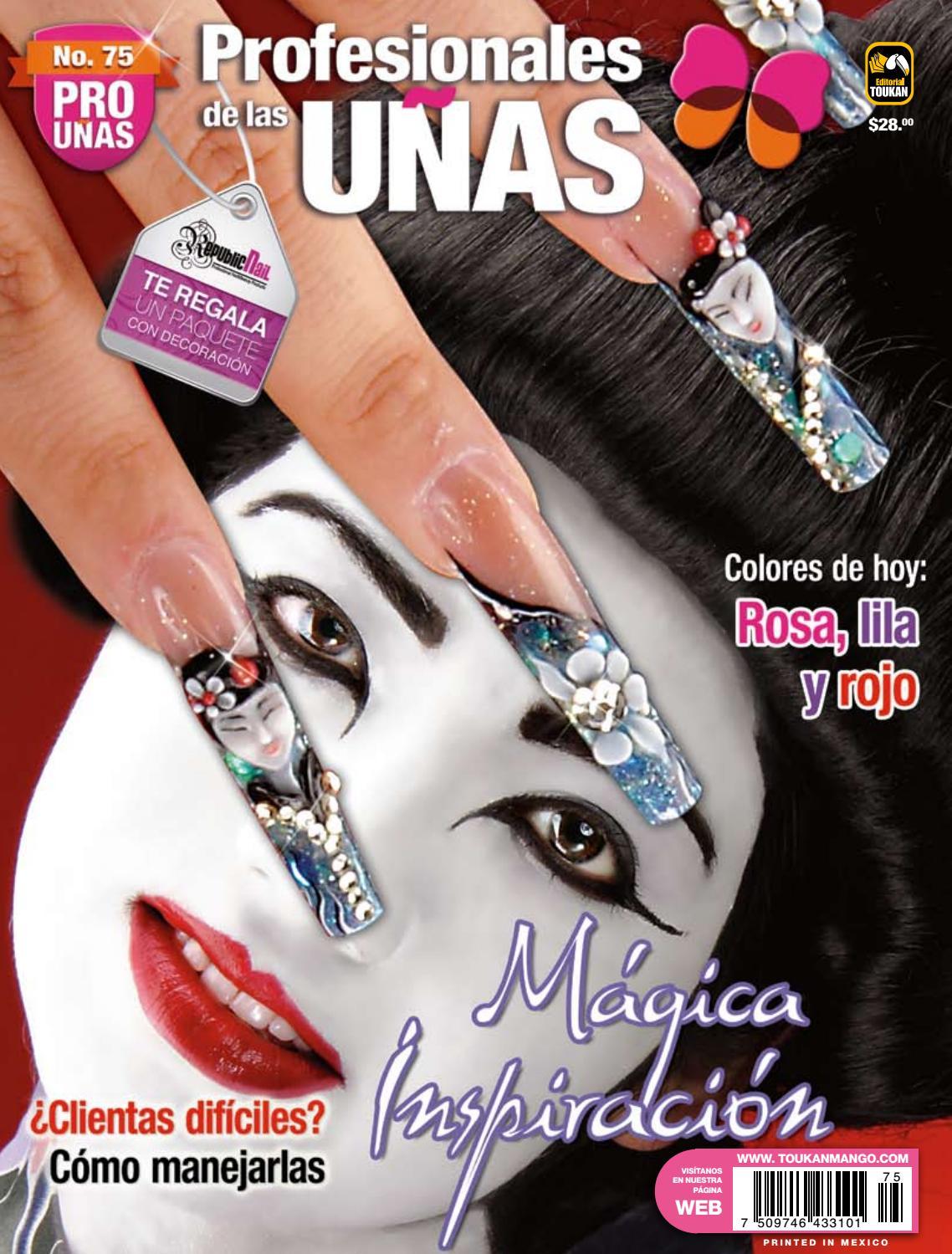 Profesionales de las uñas No. 75 by Editorial Toukan - issuu