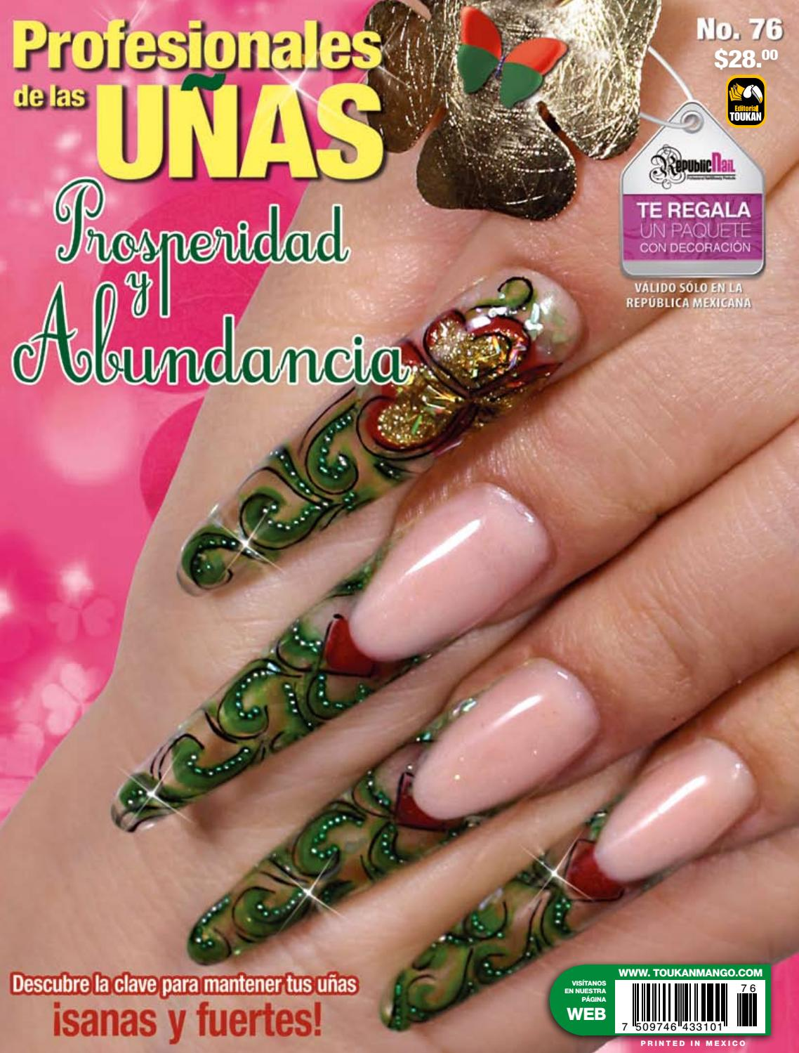 Profesionales de las uñas No. 76 by Editorial Toukan - issuu