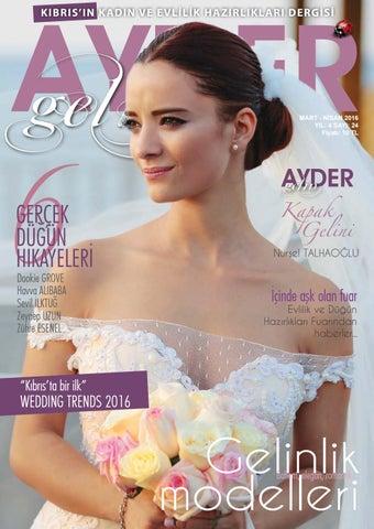 bcc764f81b8efc Ayder Gelin Sayı 24 - N.Cyprus Wedding Magazine