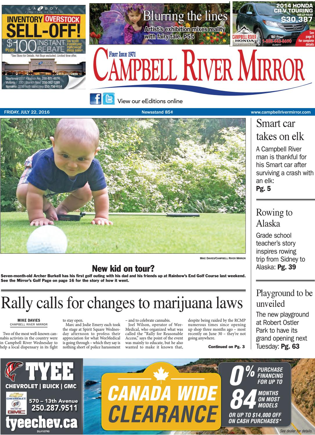 11c5badf96d0 Campbell River Mirror, July 22, 2016 by Black Press Media Group - issuu