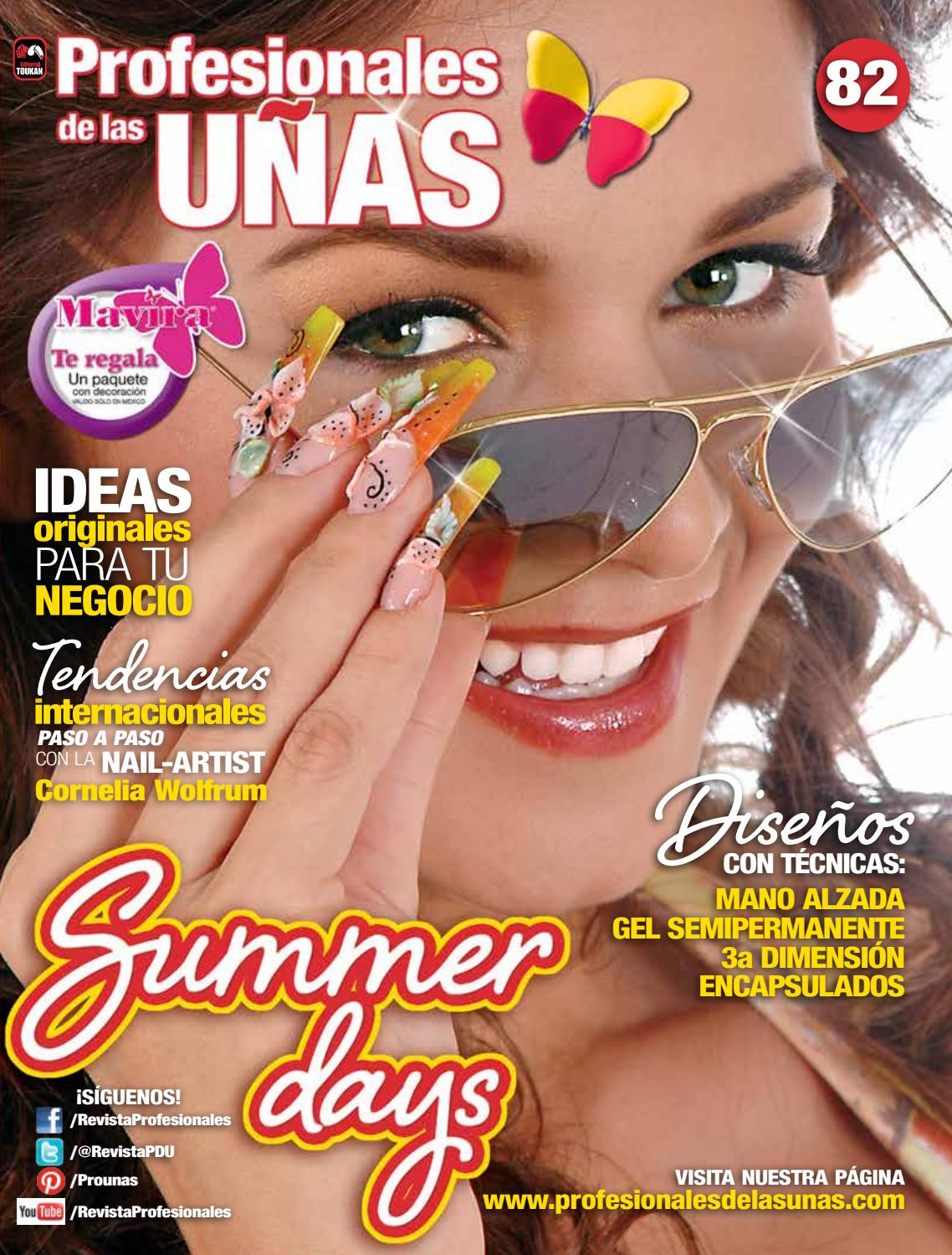 Profesionales de las uñas No. 82 by Editorial Toukan - issuu