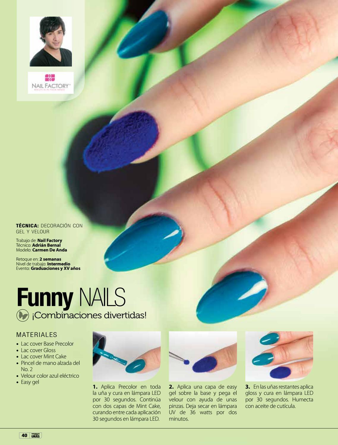 Único Uñas De Gel Azul Real Modelo - Ideas de Pintar de Uñas ...