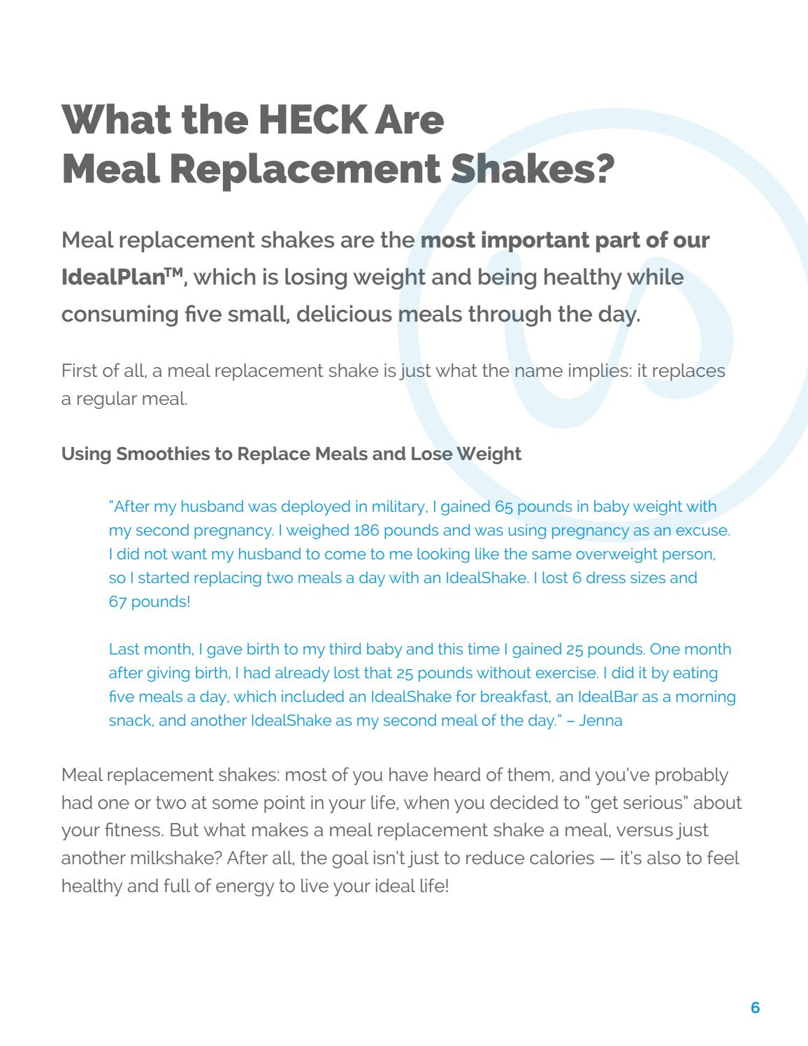 Idealshape smoothie recipes by Susan Orman - issuu