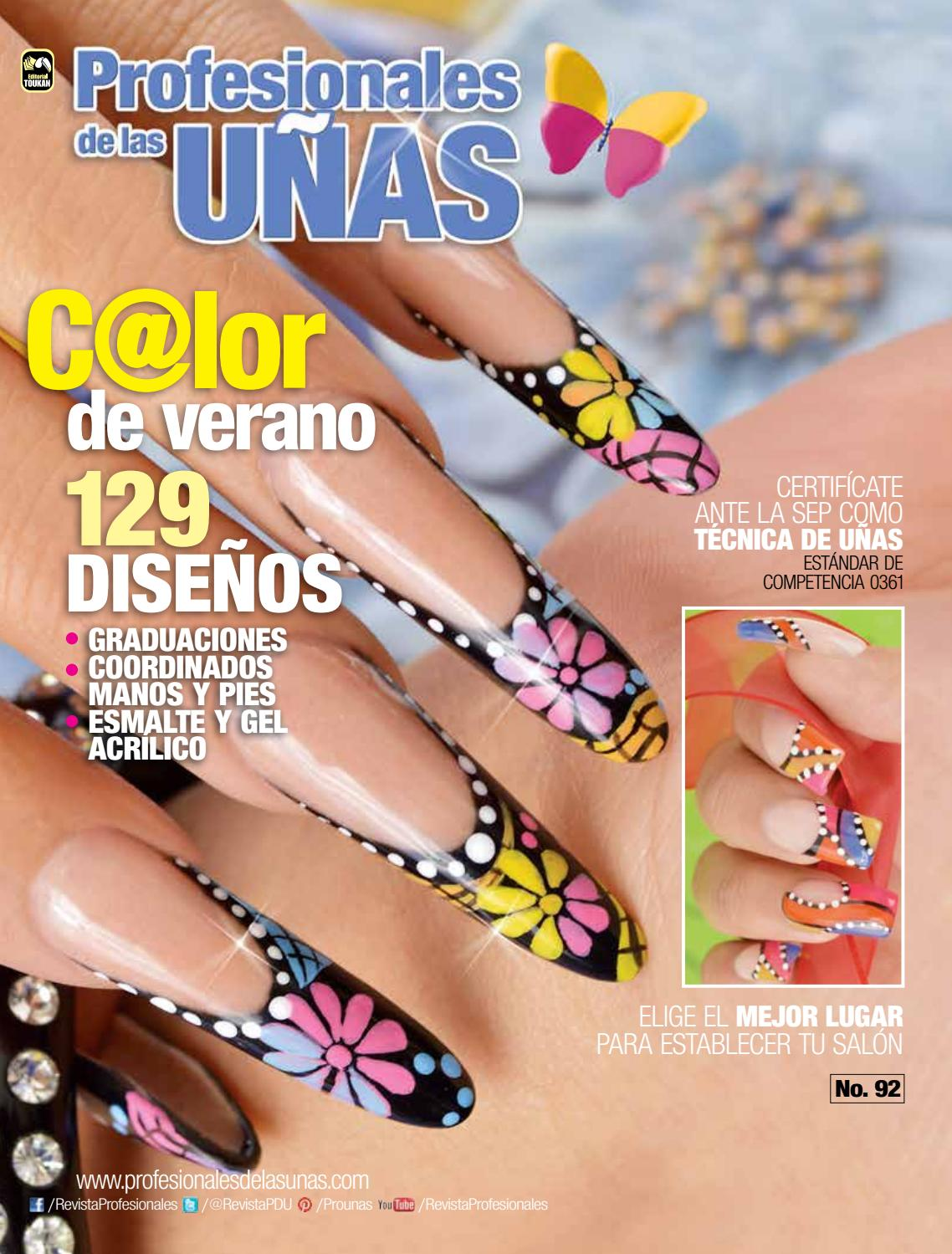 Profesionales de las uñas No. 92 by Editorial Toukan - issuu