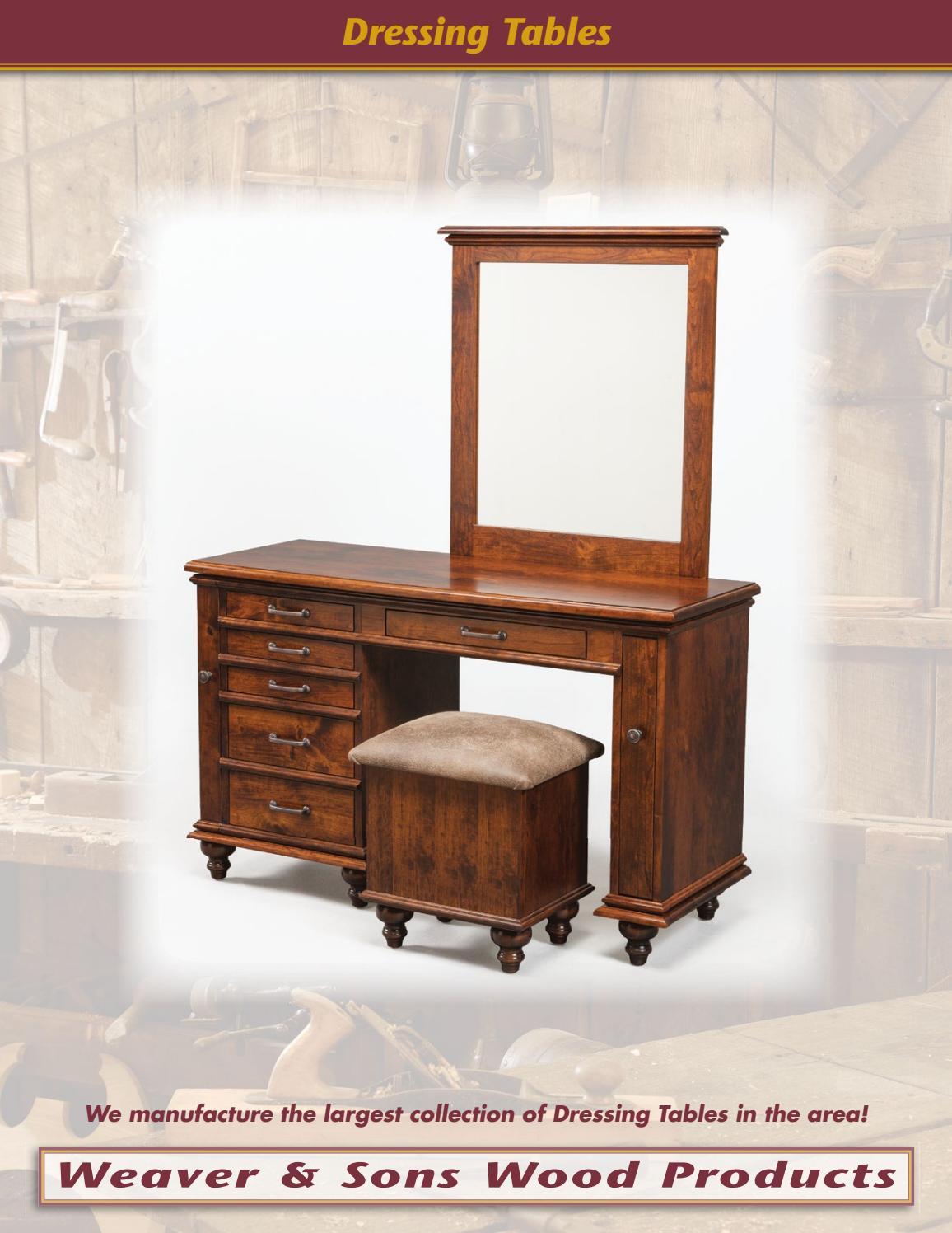 2016 Weaver U0026 Sons Wood Products Catalog / Jewelry Boxes / E U0026 G Amish  Furniture By E U0026 G Amish Furniture   Issuu