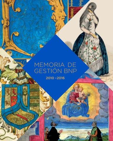 Memoria 2010-2016 Biblioteca Nacional del Perú-BNP by Ideo ... 9b66ae3b41d