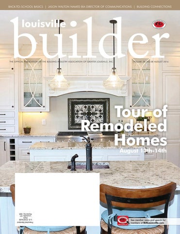 Louisville Builder   August 2016 By Building Industry Association Of ...