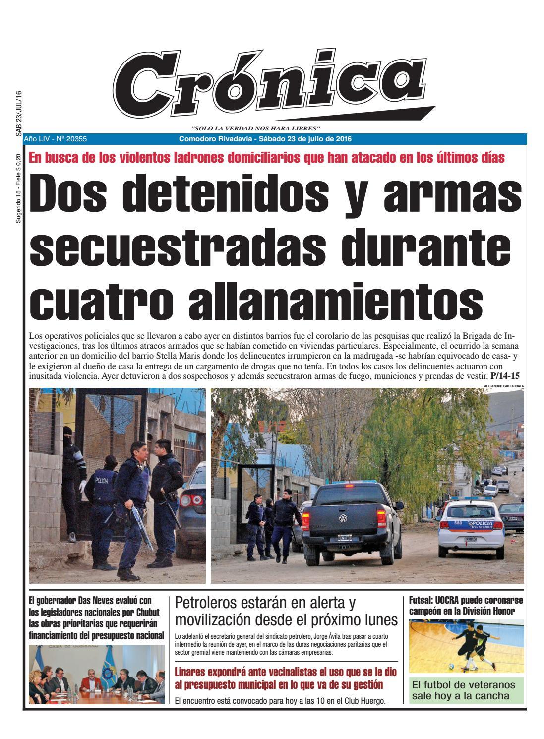 459ec89de5033603864e3473ccb04932 by Diario Crónica - issuu