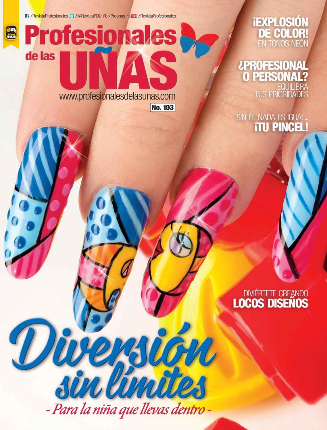 Profesionales de las uñas No. 103 by Editorial Toukan - issuu